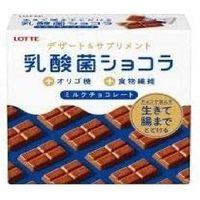 ロッテ 乳酸菌ショコラ 4903333289646 48G×12個(直送品)