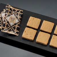 三越伊勢丹〈黒船〉NOVO TILE Kinako 1箱(12枚入) 伊勢丹の紙袋付き 手土産ギフト 洋菓子