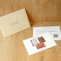 AoyamaLab 【山形の極み ビーフバラエティコース(3回お届け)】用ギフトカード D0-RNB9006-card(直送品)