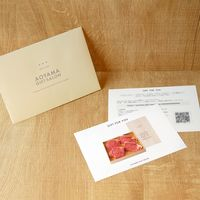 AoyamaLab 【山形の極み 山形牛サーロイン酒粕味噌漬 】 用ギフトカード D0-RNB9911-card(直送品)