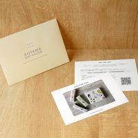 AoyamaLab 【フルーツコラーゲンゼリー岡山3種】用ギフトカード D2-ADR9008-card(直送品)