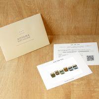 AoyamaLab 【農家の味自慢詰合せ 6本】用ギフトカード D2-ADR9015-card 1式(封筒、ギフトカード、商品写真、説明ガイド)(直送品)