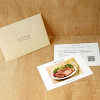 AoyamaLab 【鹿野高原牧場ハムギフトB】用ギフトカード D2-ADR9047-card 1式(封筒、ギフトカード、商品写真、説明ガイド)(直送品)