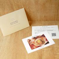 【帆立片貝バター付】用ギフトカード D2-ADR9081-card 1式(封筒、ギフトカード、商品写真、説明ガイド)(直送品)