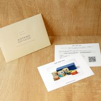 AoyamaLab 【水産缶詰バラエティセットC】用ギフトカード D2-ADR9087-card 1式(封筒、ギフトカード、商品写真、説明ガイド)(直送品)