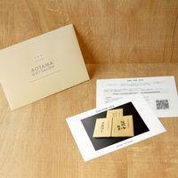 AoyamaLab 【黒豚餃子と九条葱餃子と地鶏餃子セット】用ギフトカード D2-ADR9142-card(直送品)