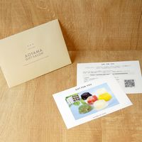 AoyamaLab 【「銀座千疋屋」 銀座ゼリー 9個】用ギフトカード D2-FDC9005-card(直送品)