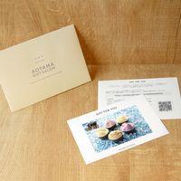 AoyamaLab 【「銀座千疋屋」 銀座プレミアムアイス】用ギフトカード D2-FDC9006-card(直送品)