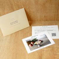 AoyamaLab 【「銀座千疋屋」 銀座フルーツ大福】用ギフトカード D2-FDC9042-card(直送品)