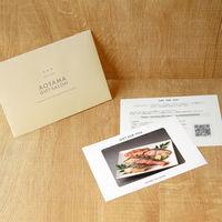 AoyamaLab 【漬魚詰合せ】用ギフトカード D2-FDC9295-card 1式(封筒、ギフトカード、商品写真、説明ガイド)(直送品)