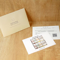 AoyamaLab 【「NORTH FARM STOCK」北海道野菜のスープ4種セット[各2袋入]】用ギフトカード D2-HAD9016-card(直送品)