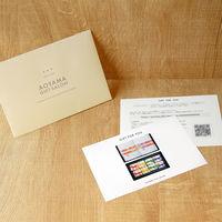 AoyamaLab 【結(ゆい)新潟県産コシヒカリ・今治タオルギフトセットB】用ギフトカード D2-TNB9032-card(直送品)