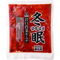 徳山物産 業務用 冬眠キムチ(冷凍)500g 89759 1ケース 500g×20PC(直送品)