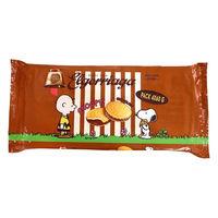 スヌーピー クリームサンドビスケット チョコレートバッグ 1個 Wismettacフーズ クッキー ビスケット