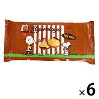 スヌーピー クリームサンドビスケット チョコレートバッグ 1セット(6個) Wismettacフーズ クッキー ビスケット