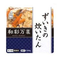 ケンコーマヨネーズ 和彩万菜 ずいきの炊いたん 4971880355268 5袋:500G(直送品)