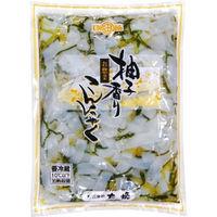 太堀 業務用 柚子香りこんにゃく 163947 1ケース 1kg×6PC(直送品)