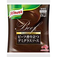味の素 業務用 クノール ビーフ香り立つデミグラスソース 410513 1ケース 500g×10PC(直送品)