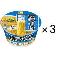 麺づくり 鶏だし塩 しお味 87g 1セット(3食入) 東洋水産