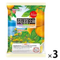 マンナンライフ 蒟蒻畑 温州みかん味 3袋