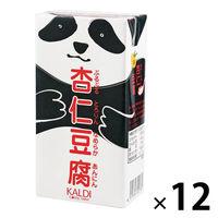 カルディコーヒーファーム KALDI カルディオリジナル パンダ杏仁豆腐(537g)大容量 1セット(12個)