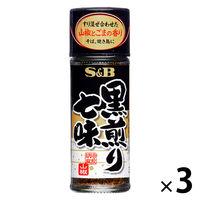 エスビー食品 黒煎り七味 3個