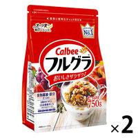 カルビー フルグラ 800g 徳用フルーツグラノーラ 1セット(2袋) シリアル