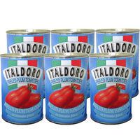 ホールトマト 缶 400g(固形量240g) 1セット(6缶入) イタルドーロ