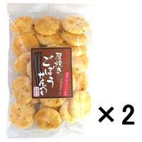 成城石井 厚焼きごぼうせんべい 国産ごぼうチップ使用 1セット(2袋)
