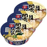 寿がきや食品 だし名人関西風うどん カップ 131g 1セット(3食)
