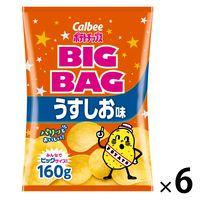 カルビー ポテトチップスビッグバッグうすしお味 170g 1セット(6袋)