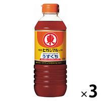 ヒガシマル醤油 うすくちしょうゆ 500ml 3本