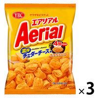 ヤマザキビスケット エアリアル 濃厚チェダーチーズ味 3袋