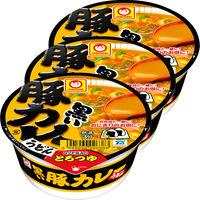 東洋水産 黒い豚カレーうどん ミニサイズ 1セット(3食入)