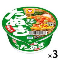 東洋水産 緑のたぬき天そば ミニサイズ 1セット(3食入)