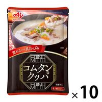 【ロハコ先行販売】味の素 コムタンクッパ 国産米入り 1人前(287g) 1セット(10個) 米飯 レトルト