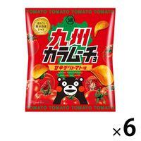 九州カラムーチョ 甘辛チリトマト 6袋 湖池屋 ポテトチップス スナック菓子 おつまみ