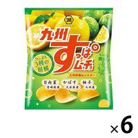 九州すっぱムーチョ 九州柑橘&ビネガー 6袋 湖池屋 ポテトチップス スナック菓子 おつまみ