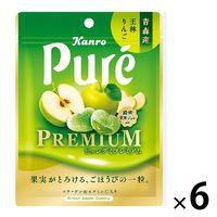 ピュレグミプレミアム 青森産王林りんご 54g 6袋 カンロ グミ キャンディ