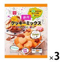 共立食品 徳用クッキーミックス 3袋 製菓材 お菓子作り 手作り