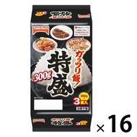 テーブルマーク ガッツリ飯!特盛3食(300g×3食入) 16個