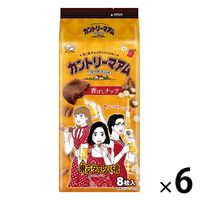 不二家 東京タラレバ娘カントリーマアム(香ばしナッツ) 6袋 クッキー ビスケット