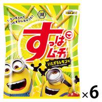 すっぱムーチョ いたずらレモン味(ミニオンコラボ) 6袋 湖池屋 ポテトチップス スナック菓子
