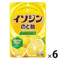 UHA味覚糖 イソジンのど飴 フレッシュレモン味 6袋 のど飴 お菓子