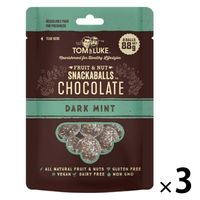 トム&ルーク フルーツ&ナッツチョコレートスナックボール ダークミント 3袋 チョコレート