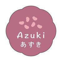 ササガワ 食品表示ラベル・シール あずき 41-10078 1冊(150枚入)(取寄品)