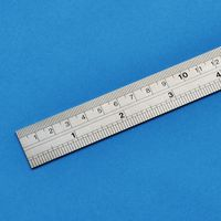 シンワ測定 ステン直定規(尺目盛付)30cm 84-03 1本(直送品)