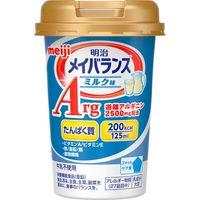 明治 メイバランスArg Miniカップ ミルク味 1ケース(125mL×24個入) 【介護食】介援隊カタログ E1231(直送品)