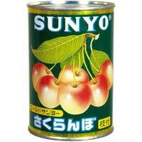 サンヨー堂 Gサンヨー さくらんぼ(自然色スタイル)4号缶(24個)(直送品)