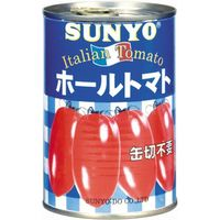 サンヨー堂 サンヨー ホールトマト EO4号缶(24個)(直送品)